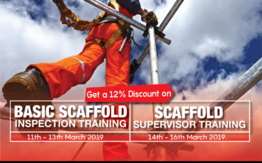 Falck Prime Atlantic CISRS Scaffold Training Offer: 12% Discount Off!