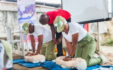 Over 400 Nigerians Trained and Certified in the Falck Prime Atlantic Free Basic First Aid and CPR 2019 Training Campaign