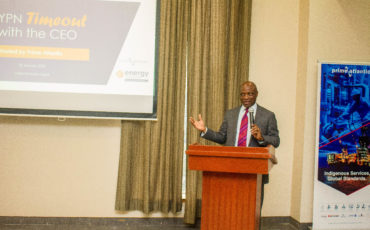 Ayo Otuyalo, Group Managing Director, Prime Atlantic Limited Speaks at the YPN Timeout with the CEO Event