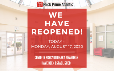 Prime Atlantic Reopened Its Training Center Today – Monday, August 17, 2020